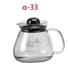 BHG960 960cc花茶壺-黑