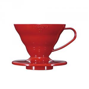 V60紅色01樹脂濾杯 VD-01R