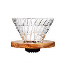 V60橄欖木玻璃濾杯 01 VDG-01-OV