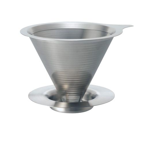 HARIO V60免濾紙02金屬濾杯 DMD-02-HSV